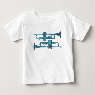 Trompete-Kunst Baby T-shirt