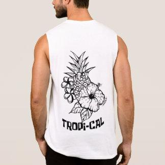 Tropisch durch Mikka Lastro Ärmelloses Shirt
