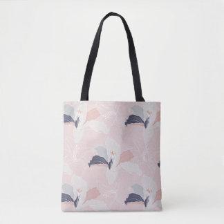Tropisch erröten BlumenTaschen-Tasche