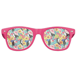 Tropisch Retro Sonnenbrillen