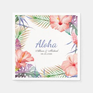 Tropical Floral Aloha Luau Style