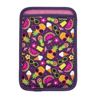 Tropische Ferien-nahtloses Muster Sleeve Für iPad Mini