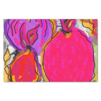 Tropische Frucht-Entwurfs-Seidenpapier Seidenpapier