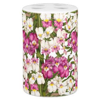 Tropische Orchideen Botanisches Blumen Bad Mit Badezimmer Set