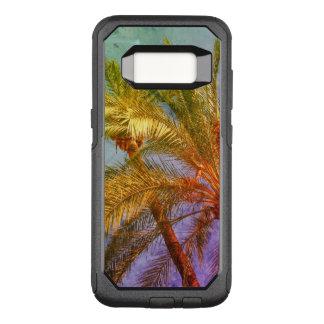Tropische Palmblätter Vintag OtterBox Commuter Samsung Galaxy S8 Hülle