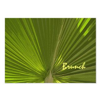 Tropische Palmen-Posten-Hochzeits-Brunch-Einladung 12,7 X 17,8 Cm Einladungskarte