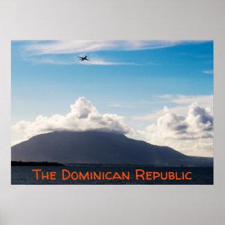 Tropische Reise | die Dominikanische Poster