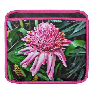 Tropische rosa Ingwer iPad Hülse iPad Sleeve