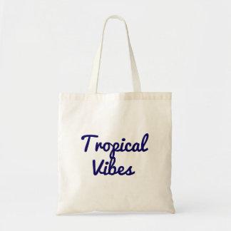 Tropische Schwingungens-Tasche Budget Stoffbeutel