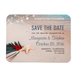 Tropische Strand-Hochzeit in Urlaubsort Save the Magnet