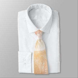 Tropische Strand-Thema-Palmen Bedruckte Krawatte