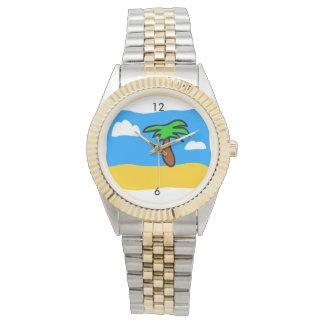 Tropische Tagesuhr Armbanduhr