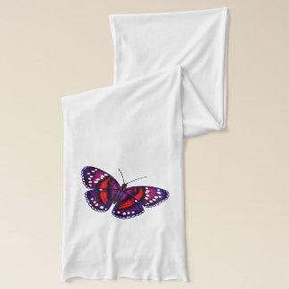 Tropischer lila Schmetterlings-Schal Schal
