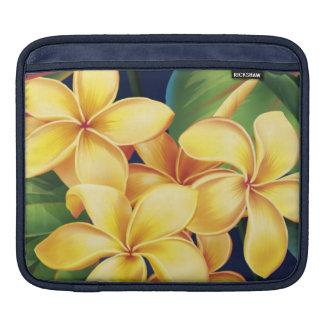 Tropischer Paradiesplumeria-Rickshaw iPad Fall Sleeve Für iPads