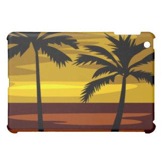 Tropischer Sonnenuntergang ipad Fall iPad Mini Hülle