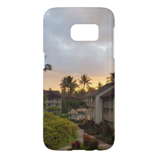 Tropischer Telefon-Kasten Samsung-Galaxie-S7