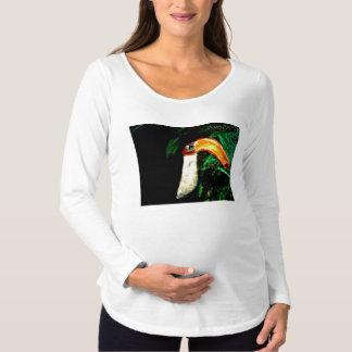 Tropischer Tucan ursprünglicher Kunst-Entwurf Umstands-T-Shirt