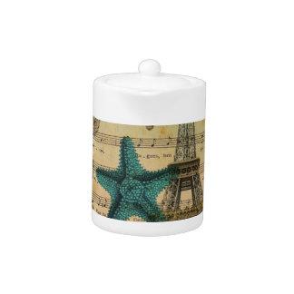tropischer Turm Seepferd Seashellsparis Eiffel