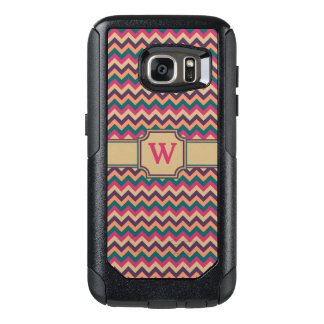 Tropischer Zickzack Otterbox Telefon-Kasten OtterBox Samsung Galaxy S7 Hülle