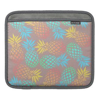 tropisches buntes Ananasmuster des eleganten Sleeve Für iPads