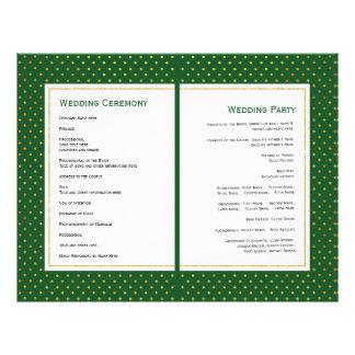 Tropisches gefaltetes wedding Programm des Blätter Flyer