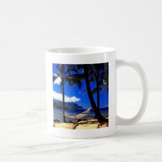 Tropisches Insel-Nachmittags-Nickerchen Kauai Kaffeetasse