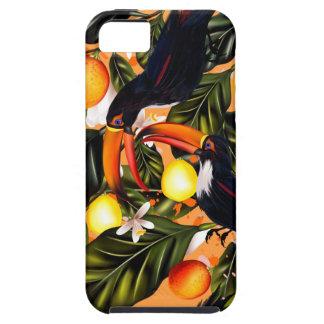 Tropisches Paradies. Toucans und Zitrusfrucht Hülle Fürs iPhone 5