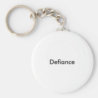 Trotz Schlüsselring/Keychain Schlüsselanhänger