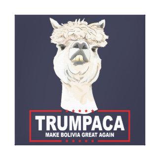 Trumpaca offizieller Leinwand-Druck Leinwanddruck