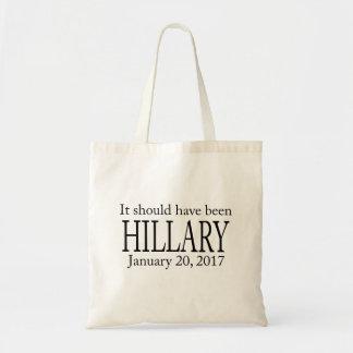 Trumpf, Einweihung sollte Hillary gewesen sein Tragetasche