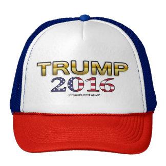 Trumpf-goldener Patriothut 2016 Baseballmütze