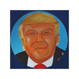 Trumpf-Leinwand-Originalvorlage Donald J Leinwanddruck