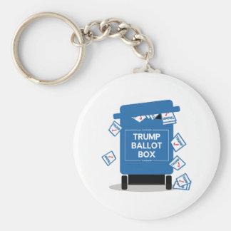 Trumpf-Wahlurne Schlüsselanhänger