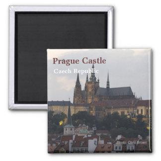 Tschechische Republik-Reise-Foto-Andenken-Magnet Quadratischer Magnet