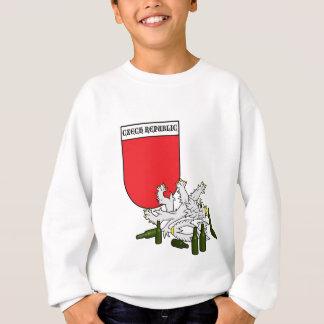 Tschechisches Emblem mit Löwe Sweatshirt