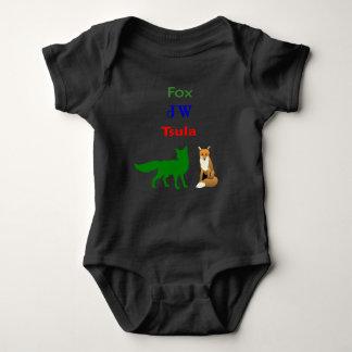 TSULA - Cherokee Fox-Kleiderbaby-Bodysuit Baby Strampler