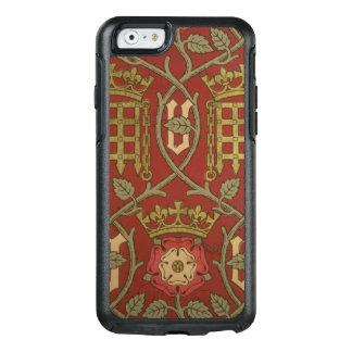 """""""Tudor Rose"""", Wiedergabetapete entwarf durch S OtterBox iPhone 6/6s Hülle"""