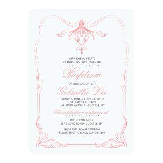 Tulpe-Spitzenblumeneinladung 12,7 X 17,8 Cm Einladungskarte