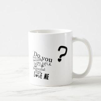 Tun Sie Sie Liebe ich Tasse
