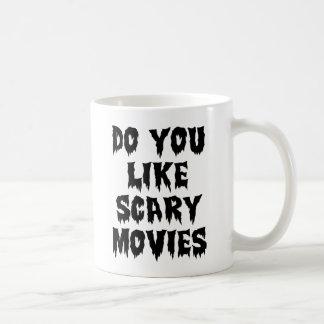Tun Sie Sie mögen beängstigende Filme Tasse