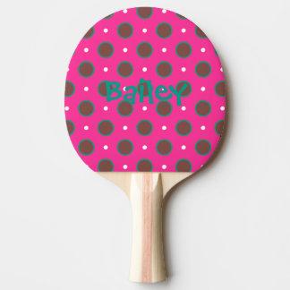 Tupfen-Klingeln pong Paddel Tischtennis Schläger