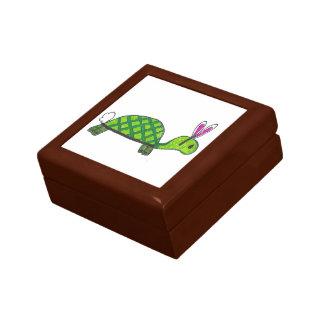 Turbbit hölzernes Schmuckkästchen Kleine Quadratische Schatulle