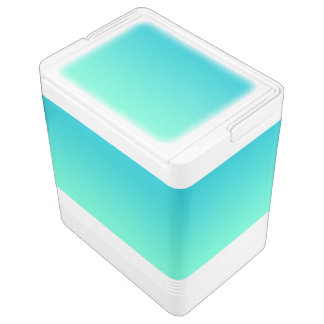 Türkis Ombre Igloo Kühlbox