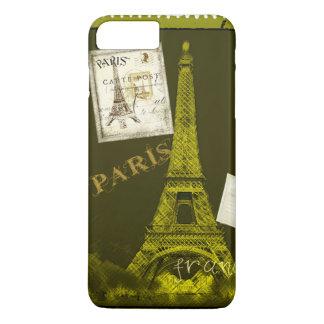 Turm-Briefmarke Paris Frankreich Eiffel iPhone 8 Plus/7 Plus Hülle