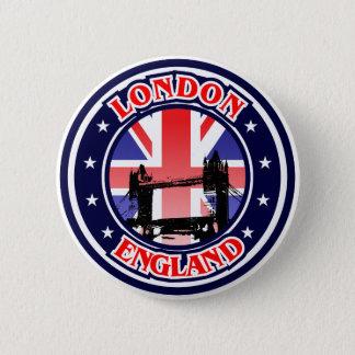 Turm-Brücke, London, Großbritannien Runder Button 5,7 Cm