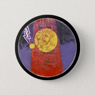 Turm der Zerstörungsfarbe - Amazng Mexiko Knopf Runder Button 5,7 Cm