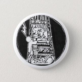 Turm des Zerstörungsschwarzen - fantastischer Runder Button 5,7 Cm