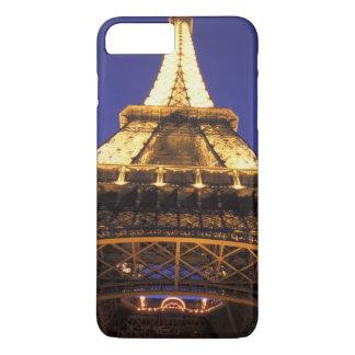 Turm FRANKREICHS, Paris Eiffel, Abendsansicht iPhone 8 Plus/7 Plus Hülle
