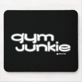 Turnhallen-Junkie Mousepad