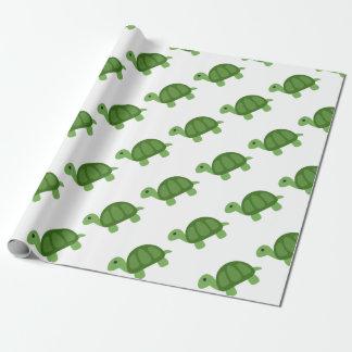 Turtle Emoji Geschenkpapier